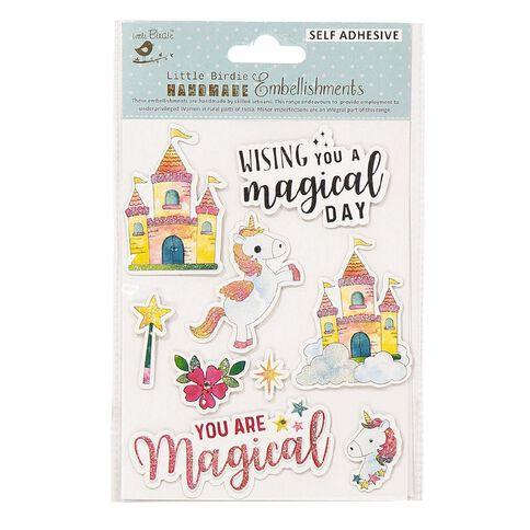 Little Birdie Sticker Fairy Tale 9 Piece