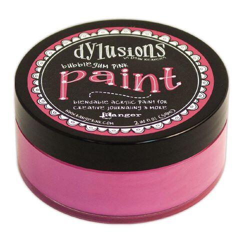 Ranger Dylusions Paint Bubblegum Pink