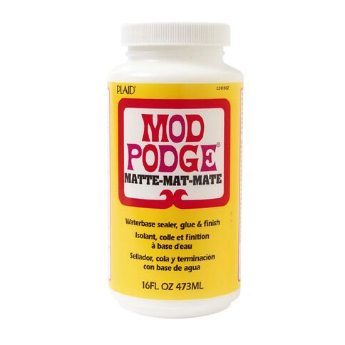 Mod Podge Matte 16oz Clear