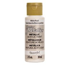 Dazzling Metallics Paint 2oz Pearl White