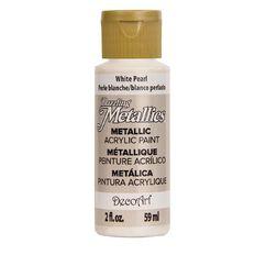 Dazzling Metallics Paint 2oz Pearl White