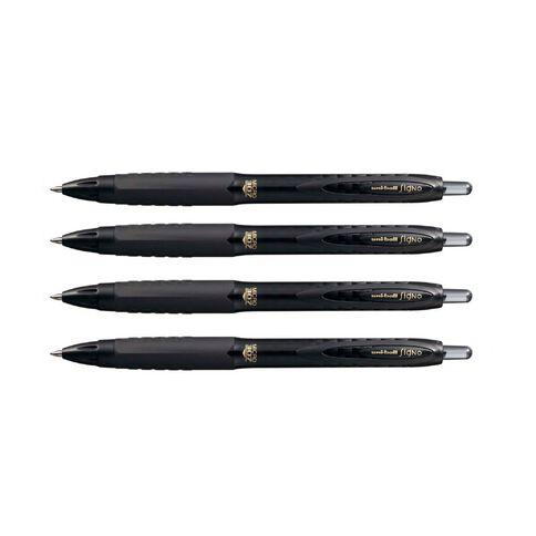 Uni-ball Signo 307 Micro 4 Pack Black