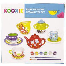 Kookie Paint Your Own Ceramic Tea Set