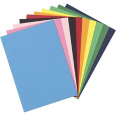 Uniti Value Cardstock Smooth 180gsm Brights 48 Sheets A4