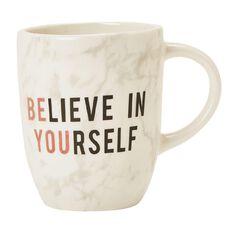 Uniti Rose Crush Mug Believe In Yourself