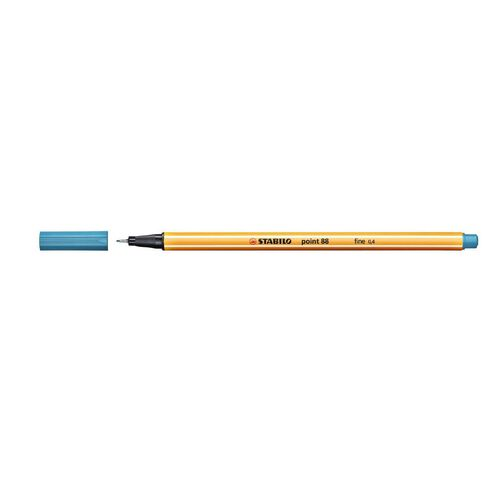 Stabilo Point 88 Fineliner 0.4mm Turquoise