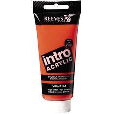 Reeves Intro Acrylic Paint 100ml Lemon