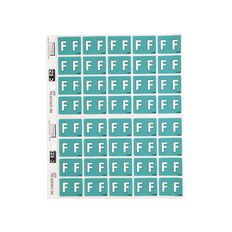 Filecorp Coloured Labels F Green