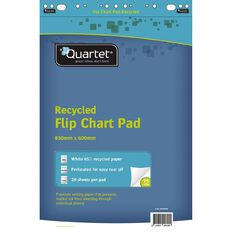 Quartet Recycled Flipchart Pad 20 Sheet