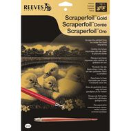 Reeves Scrapefoil Assorted