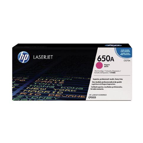 HP 650A Magenta Original LaserJet Toner Cartridge (15000 Pages)