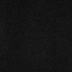 American Crafts Cardstock Glitter Medium 12 x 12 Black