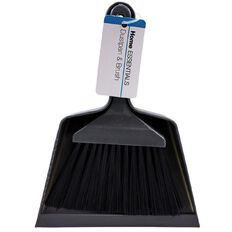 Home Essentials Dust Pan with Brush