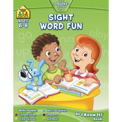 I Know It Workbook: Sight Word by Paper Back - NSP