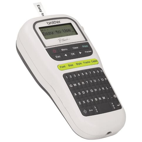 Brother PTH110W P-Touch Label Maker White