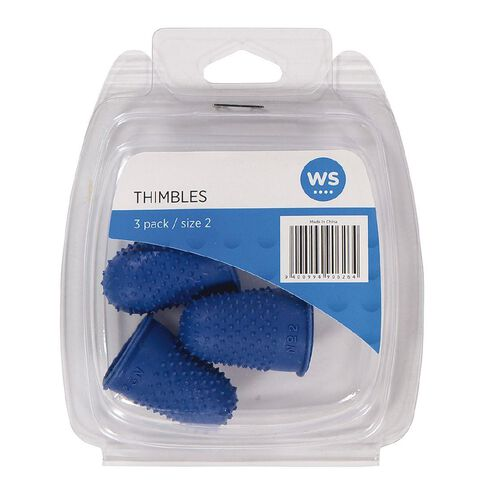Impact Thimbles Size 2 Each 3 Pack