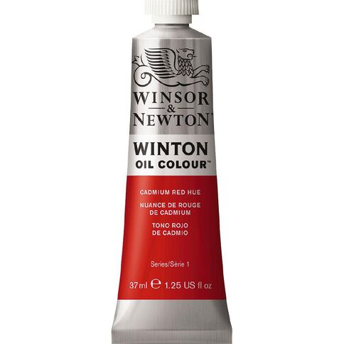 Winsor & Newton Winton Oil Paint 37ml Cadmium Red