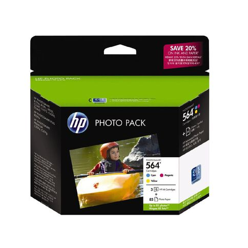 HP Ink Cartridge 564 Photo Value 3 Pack