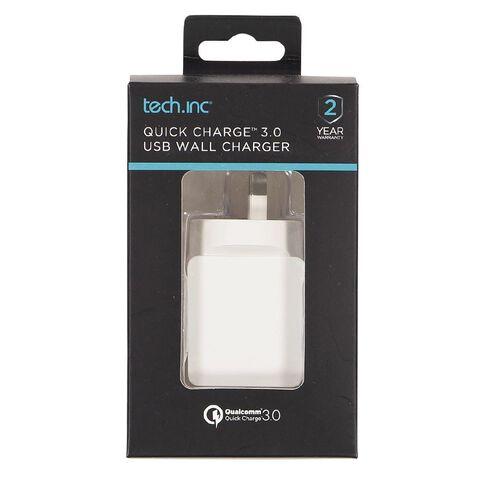 Tech.Inc QC 3.0 USB Wall Charger
