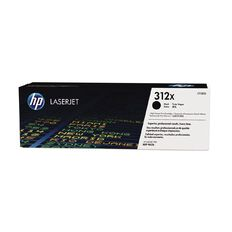 HP 312X Black Contract LaserJet Toner Cartridge (4400 Pages)
