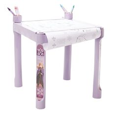 Frozen 2 Disney Colouring Table With Accessories Purple