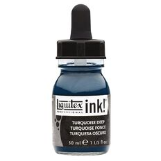 Liquitex Ink 30ml Turquoise Deep Blue