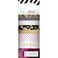 Heidi Swapp Washi Tape 8 Pack