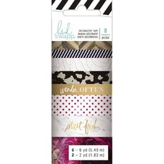 Heidi Swapp Washi Tape 8 Pack