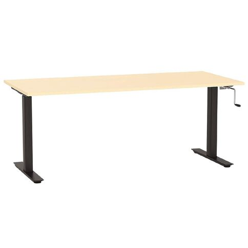 Agile Height -Adjustable Desk 1800 Nordic Maple/Black