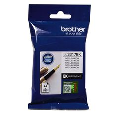 Brother Ink LC3317 Black (550 Pages)