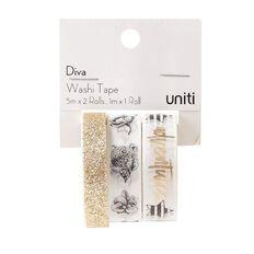 Uniti Diva Glitter Washi Tape 3 Pack