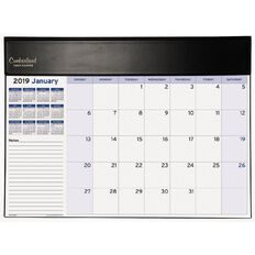 Cumberland Table Planner 2019 Month to View Black