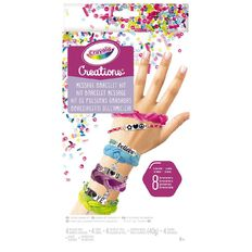 Crayola Creations Message Bracelet Kit