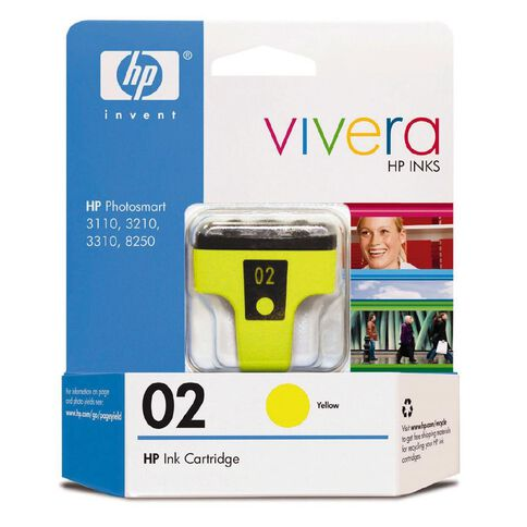 HP Ink 02 Yellow (500 Pages)