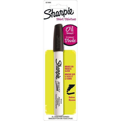 Sharpie Oil-Based Paint Marker Medium Point Black - 1-pack
