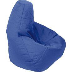 Canvas Bean Bag Prefilled Blue 200L