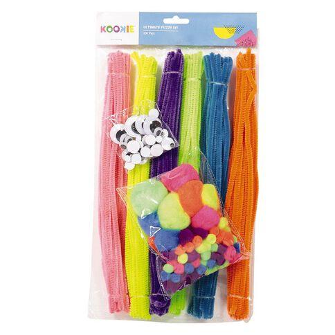 Kookie Ultimate Fuzzy Kit Multi-Coloured 300 Pack