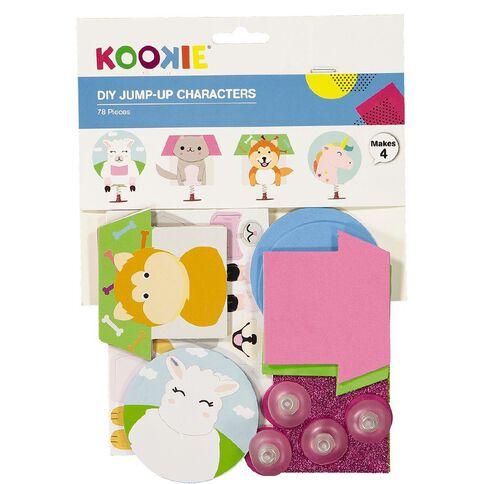 Kookie DIY Jump-Up Characters Kit