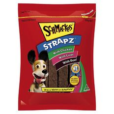 Schmackos Strapz Dog Treats Variety Pack 500g