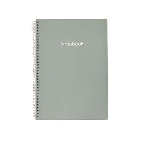 Uniti Colour Pop Notebook Softcover Green Light A4