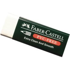 Faber-Castell PVC Free Eraser 7085-20 Med White
