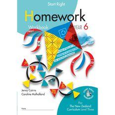 SR Year 6 Homework Workbook