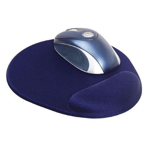Dac Mouse Pad Super Gel Mini Round Blue
