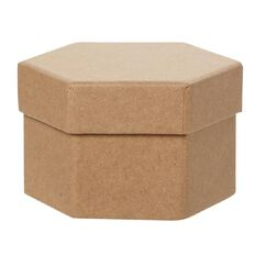 Uniti DIY Kraft Paper Hexagonal Box
