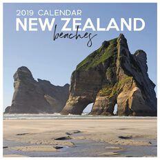 Calendar 2019 NZ Beaches 16 290mm x 290mm