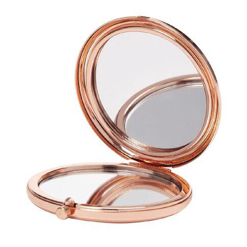 Uniti Pocket Mirror Rose Gold