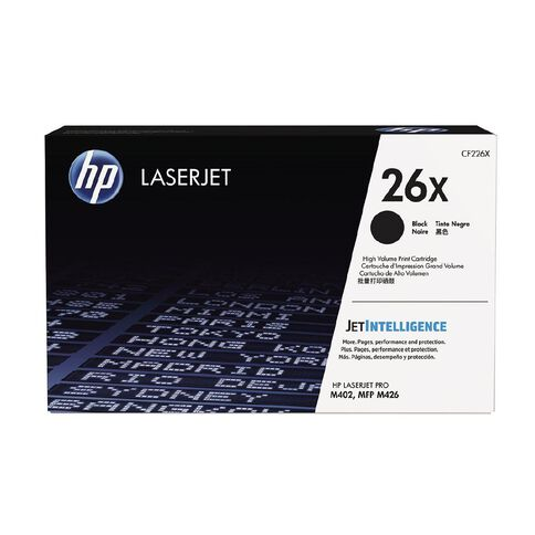 HP 26X Black Contractual LaserJet Toner Cartridge (9000 Pages)