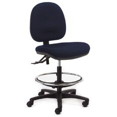 Chair Solutions Aspen Midback Tech Chair Navy