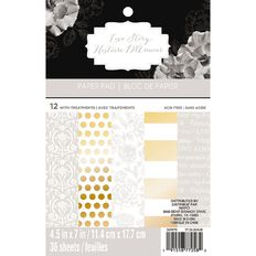 Recollections Paper Pad Love Story 4.5in x 7in