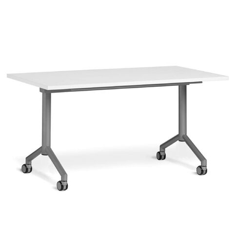 Velocity 1600 x 800 Flip Table White/Silver